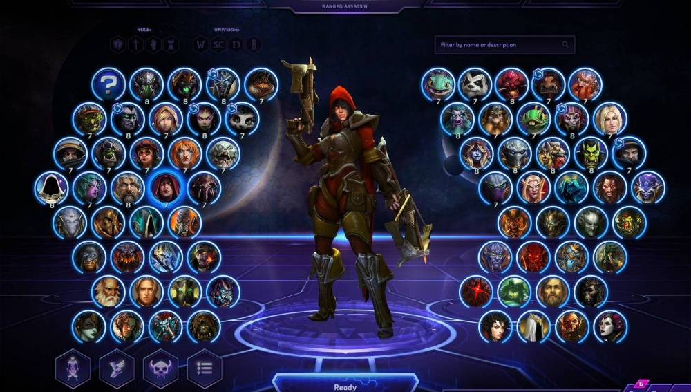 MAX AMOUNT OF heroes HEROES OF THE STORM
