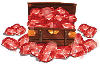 MAX AMOUNT OF Rubies