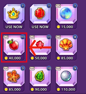 MAX AMOUNT OF Special Gems